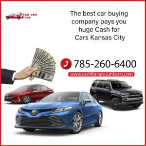 The best car buying company pays you huge Cash for Cars Kansas City
