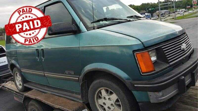 1993 Astrovan @ Paid $125