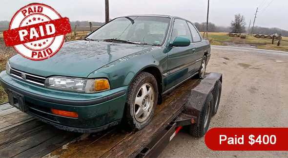 Paid $400 Cash for this Old Car